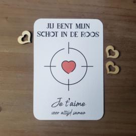 Kaart Valentijnsdag 3 keuzes - GRATIS