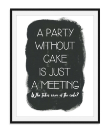 Who takes care of the cake - Poster