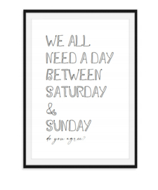 We all need a day - Poster