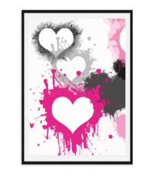 Poster vol liefde - Poster