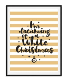 I'm dreaming - Poster Kerst