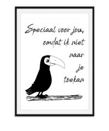 Speciaal voor jou - Toekan poster