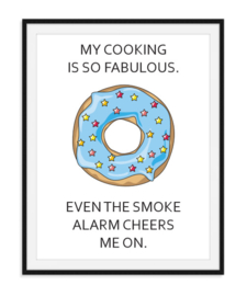 My cooking is so fabulous - Poster