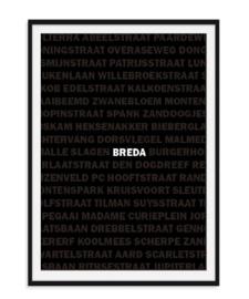 Jouw straatnamen poster