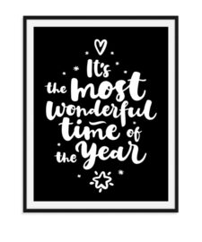 Wonderful time of the year - Poster Kerst