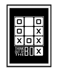 Think out of the box - poster