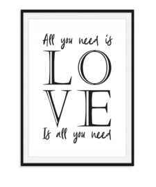 All you need is love - Poster