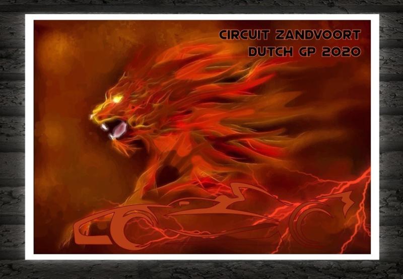Circuit Zandvoort brullende leeuw - GP 2020