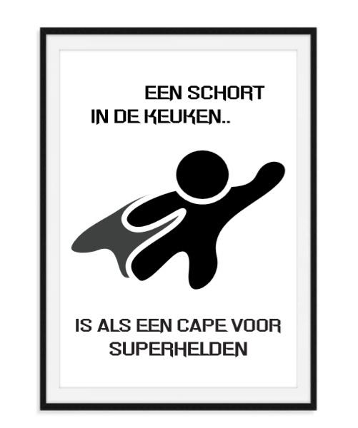 Een kok als superheld - Poster