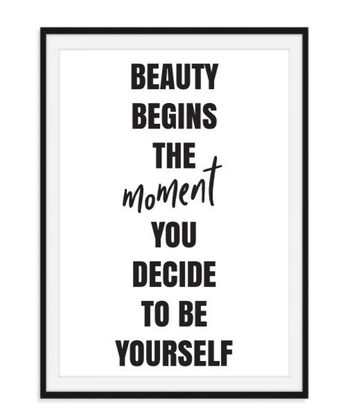 Beauty begins - Poster