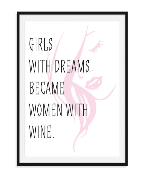 Girls with dreams - Poster