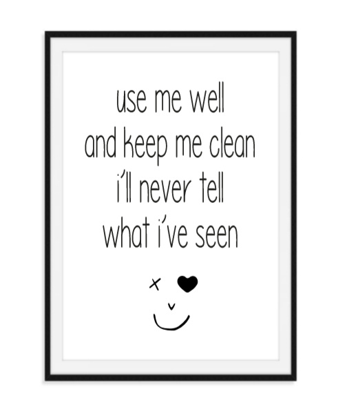 Use me well - Poster