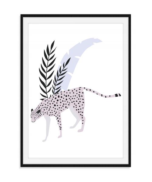 Jungle poster - Jachtluipaard
