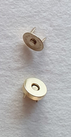 Magnetische sluiting Goud 15mm