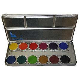 Aquarelverfblik 12 kleuren