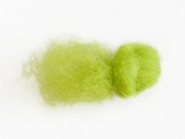 Merino Wolfleece Neon groen