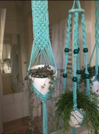 Maandag 3 aug 9.30 – 11.30 Hippe (hangplant) hanger knopen