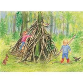 M. v. Zeyl Onze hut in het bos 454