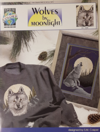 Borduurpatroon: Wolves ny Moonlight (Wolven)
