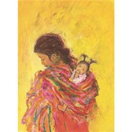 M. v. Zeyl Maya indiaan met kind 515