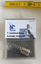 Naaimachine lampje Bajonet