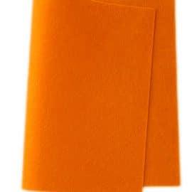 Wolvilt Licht Oranje