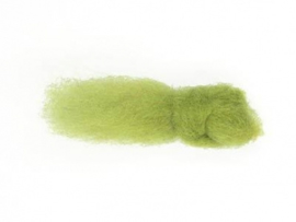 Merino Wolfleece Licht groen