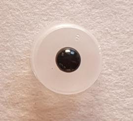 Zwarte veiligheidsogen 10mm (3 paar)