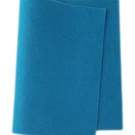 Wolvilt Midden blauw
