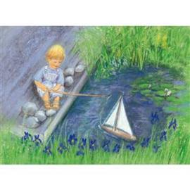 M. v. Zeyl Varen met mijn zeilboot 453