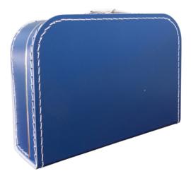 Koffertje donkerblauw 30cm