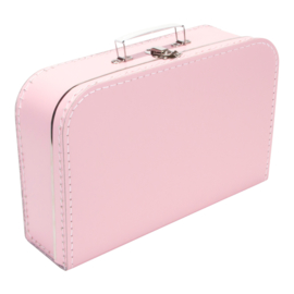 Koffertje babyroze 35cm