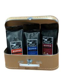 Koffiekoffertje Giftbox