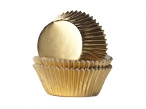 Baking Cups GOUD FOLIE