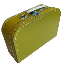 Koffertje Dark Khaki 25cm