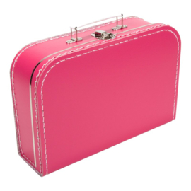 Koffertje fuchsiaroze 30cm