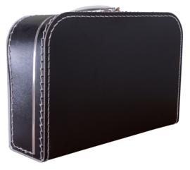 Koffertje zwart 35cm