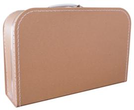 Koffertje kraft 35cm