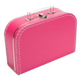 Koffertje fuchsiaroze 25cm