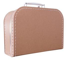 Koffertje kraft 30cm