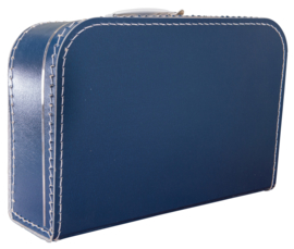Koffertje donkerblauw 35cm