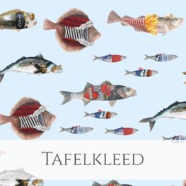 Tafelkleed 'Noordzeevis' 300 x 145 cm
