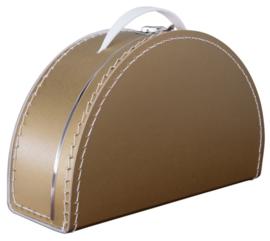 Koffertje Half rond 28cm