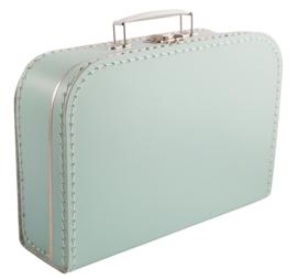 Koffertje Mintgroen 25cm