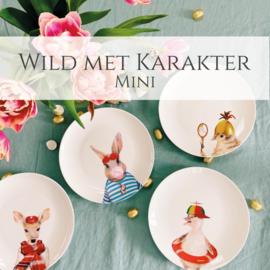 Wild met Karakter Mini