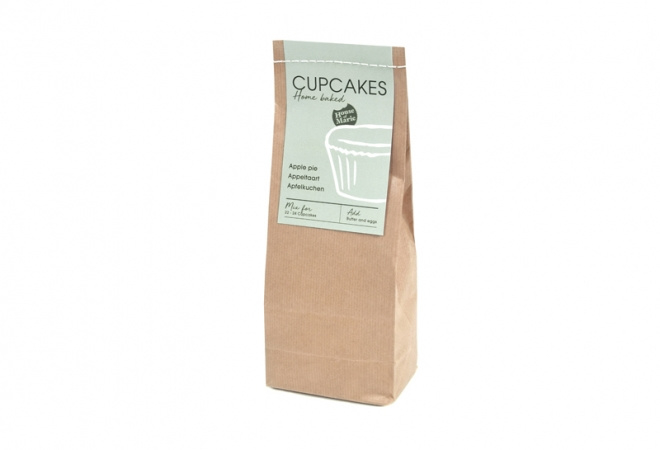 Cupcake Mix APPELTAART 500g