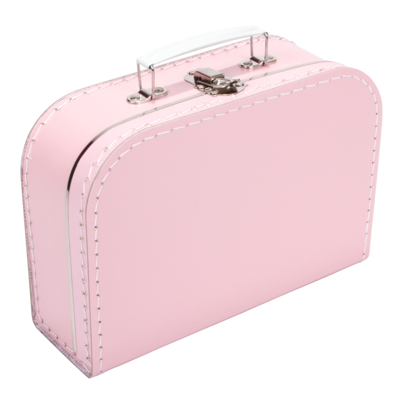 Koffertje babyroze 25cm
