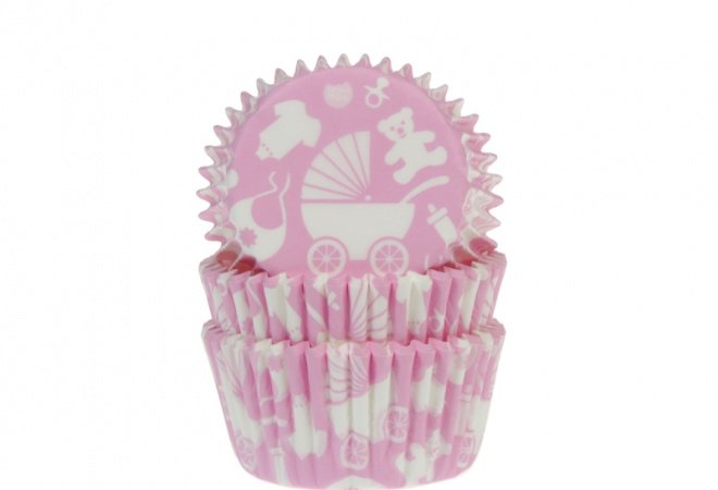 Baking Cups BABY ROZE