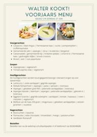 Stel zelf uw menu samen...