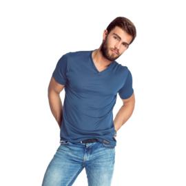 Mewa- T-shirt- Caro- vegan zijde- blauw